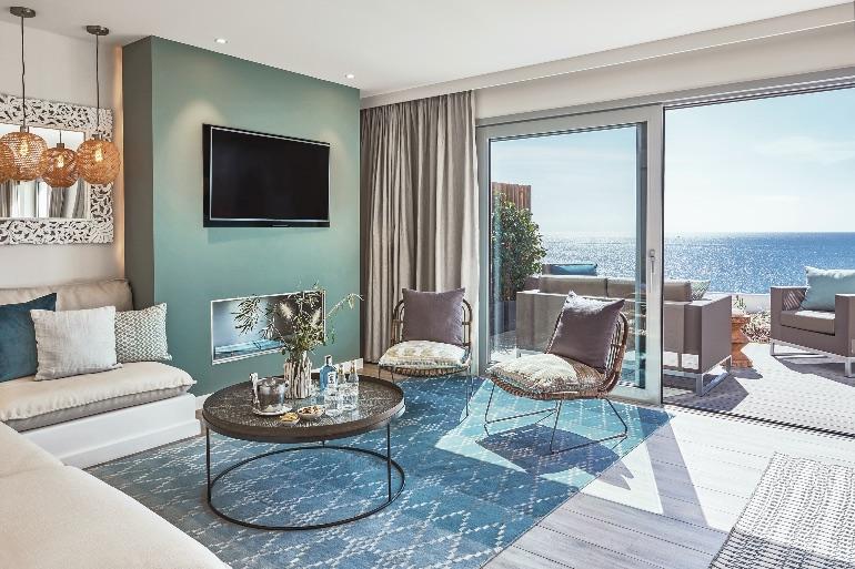 Suite de luxe del 7Pines Kempinski Ibiza