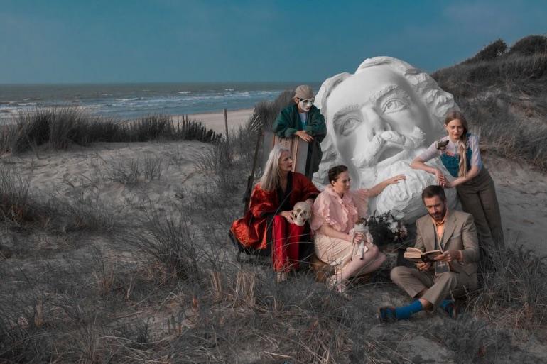 Las máscaras son el tema más conocido de las obras de James Ensor
