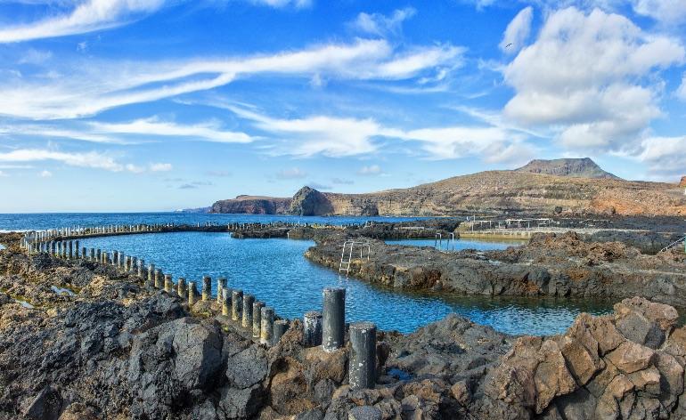 Piscinas naturales Agaete © Turismo Gran Canaria