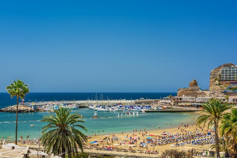 Playa Amadores, Mogan © Turismo Gran Canaria