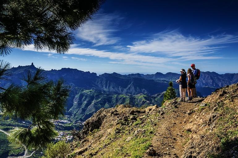 Senderismo en Gran Canaria © Turismo Gran Canaria