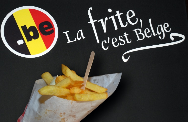Las french fries son un emblema de Bélgica