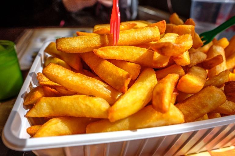 ¡A la rica patata frita!