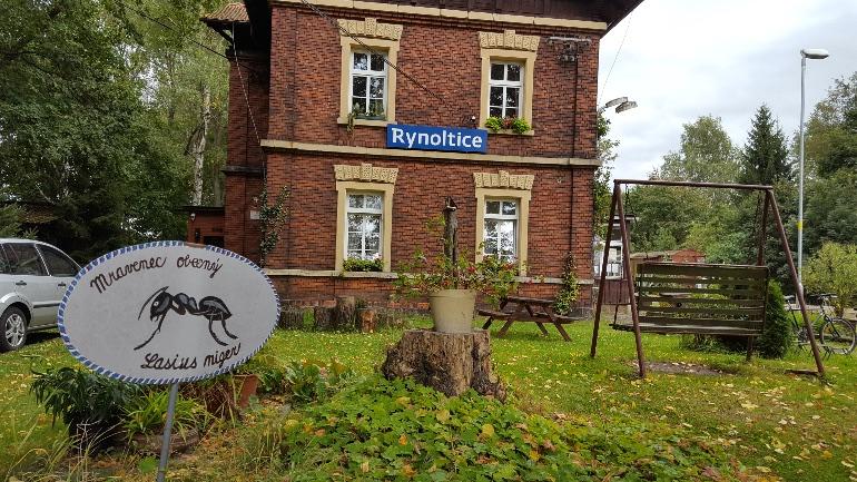 Estación de tren de Rynoltice