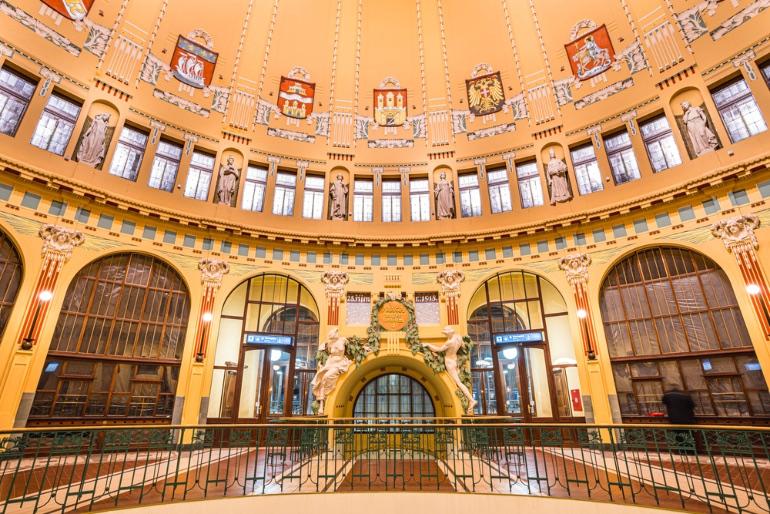 Estación central de Praga