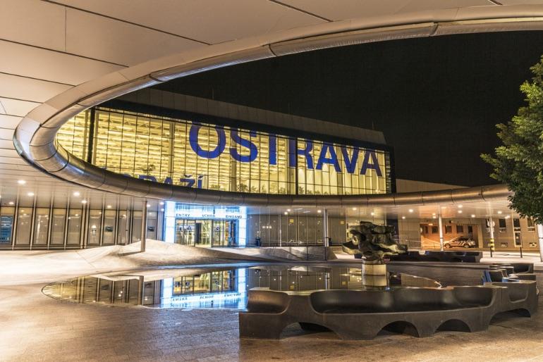 Estación de tren de Ostrava