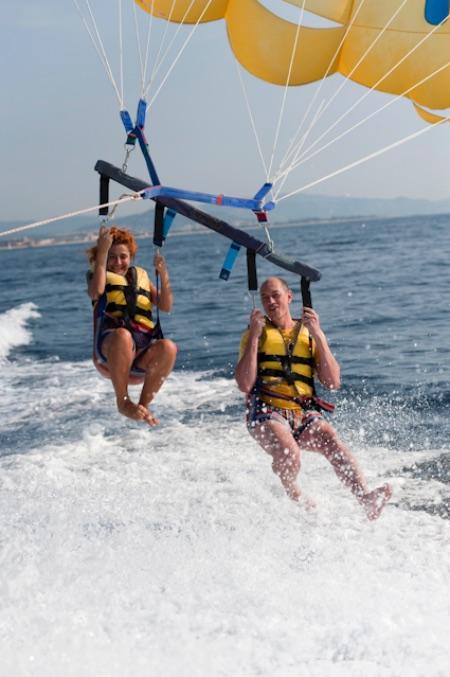 La Costa de Barcelona es perfecta para la práctica de actividades acuáticas