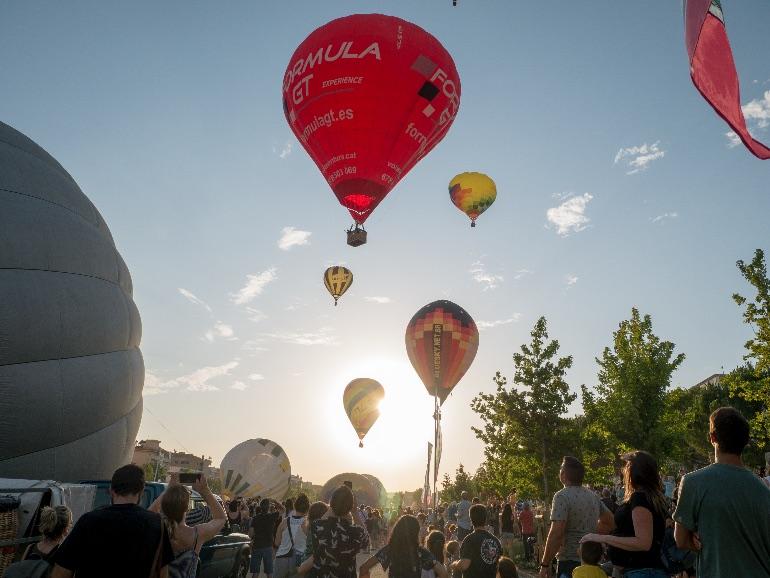 European Balloon Festival ©Albert Miró - Diputació de Barcelona