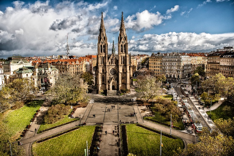 Iglesia de Santa Ludmila © Prague City Tourism