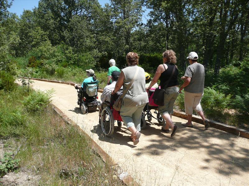 Senderos accesibles de Salamanca