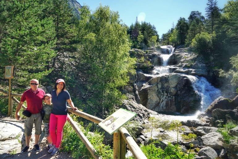 El acceso a Vall de Boí es perfecto para familias y personas con movilidad reducida por su circuito de pasarelas