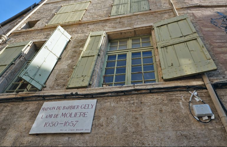 Casa del barbero Gely, amigo de Molière