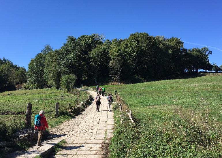 Una buena opción para disfrutar del Camino de Santiago es hacerlo en familia