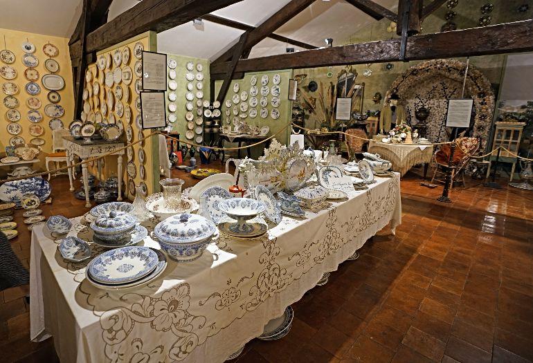 Museo de la Cerámica y de las Artes de la Mesa creado por Christine Viennet
