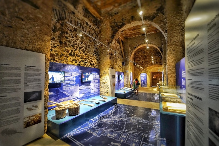 Museo de Gerri de la Sal situado en el real alfolí