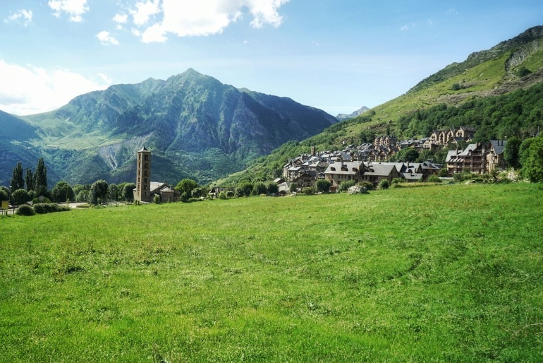 Pueblo de Taüll