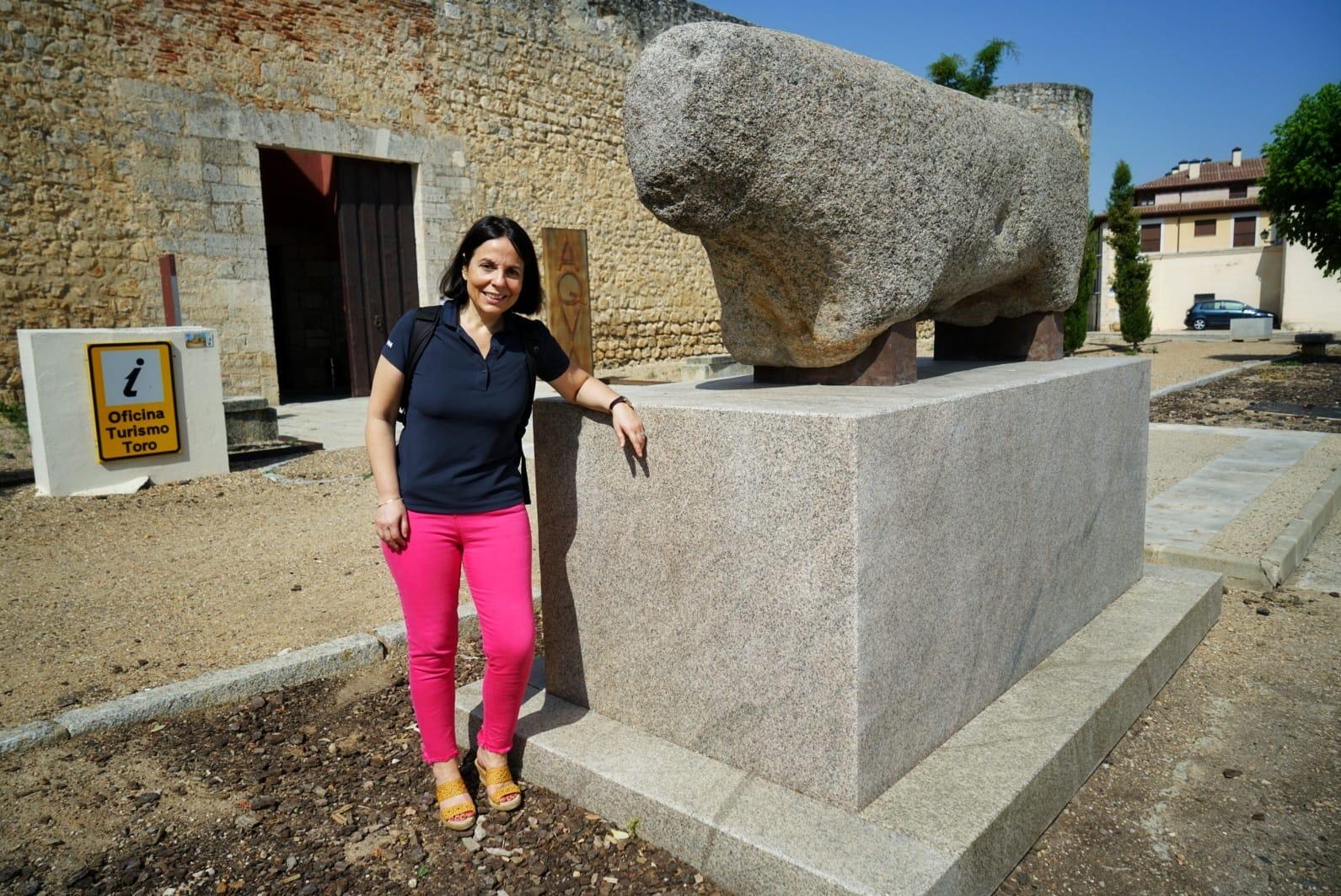 El verraco que está frente al alcázar desmochado da nombre a la localidad de Toro