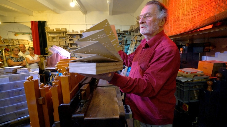 Pierre Charial es Maestro de Arte desde el año 2004