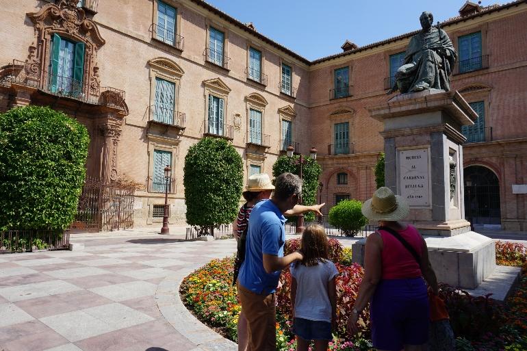 Gymkhana cultural por Murcia