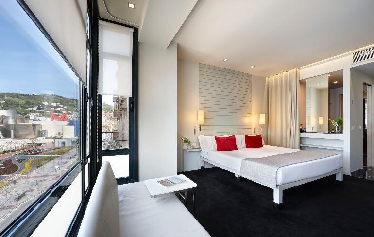 Todas las habitaciones de Miró Hotel cuentan con unas vistas impagables