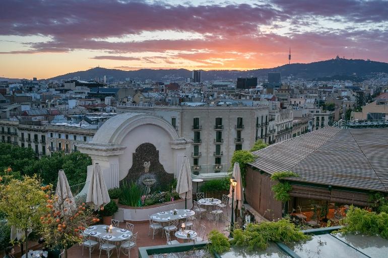 Rooftop Garden de El Palace Barcelona