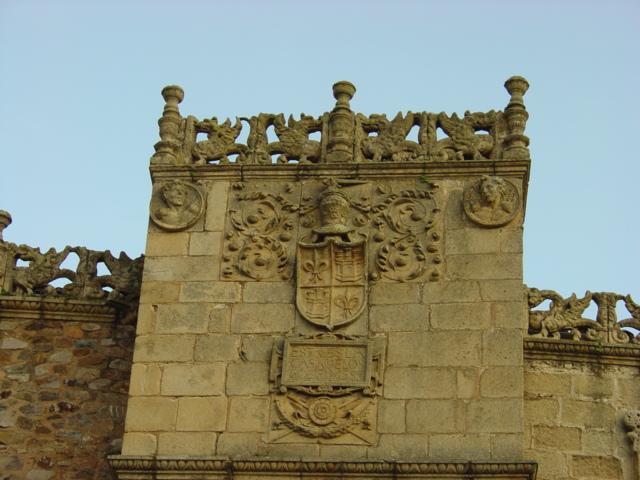 Detalle del Palacio de los Golfines, sede de la Fundación Tatiana Pérez de Guzmán el Bueno