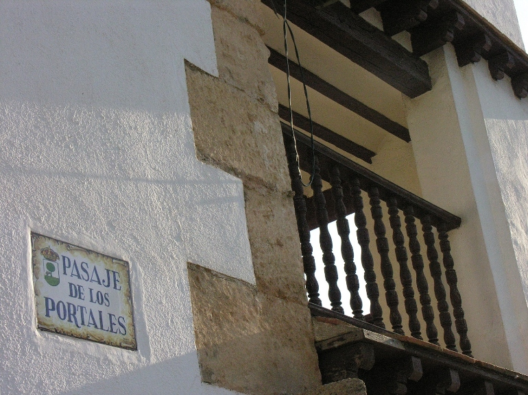 El Pasaje de los Portales es una de las paradas de la ruta literaria de Francisco García Pavón