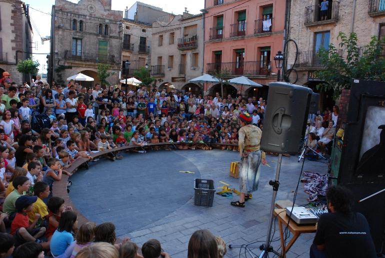 Plaza mayor de Prades. © Ayuntamiento de Prades