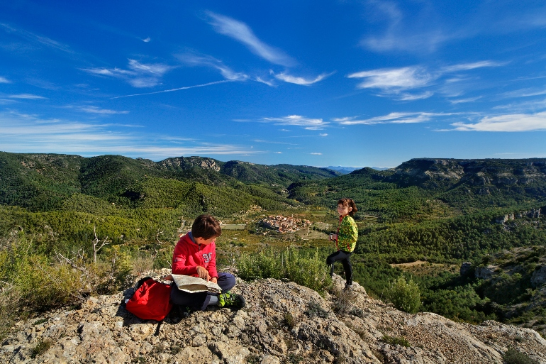 Vista de Capafonts desde la montaña de Picorandan © Rafael López Monné