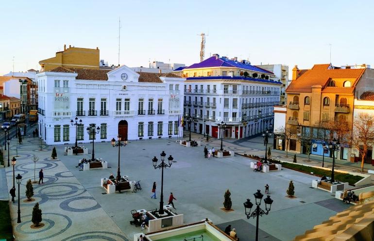 Plaza España de Tomelloso