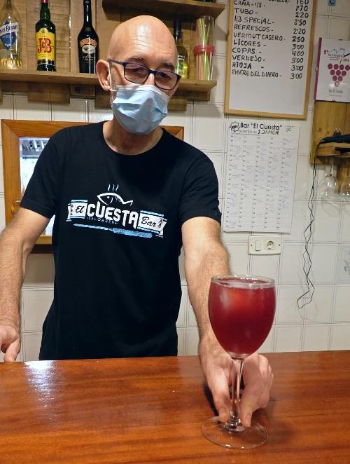 El Cuesta es uno de los bares de tapas más auténticos de Salobreña