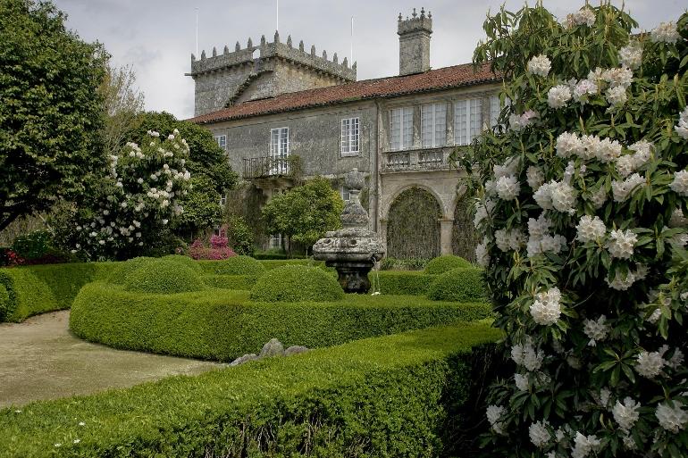 El Pazo de Oca está ubicado en la provincia de Pontevedra