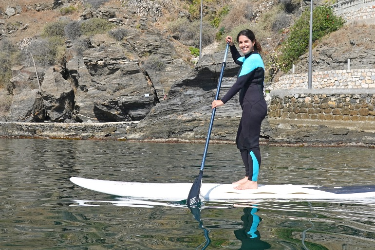 Paddle surf en La Caleta