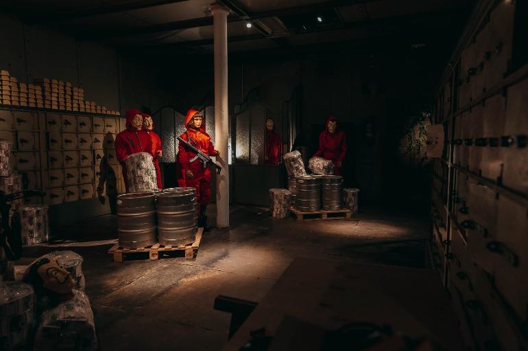 La exitosa serie La Casa de Papel también tiene cabida en el nuevo Museo de Cera de Barcelona