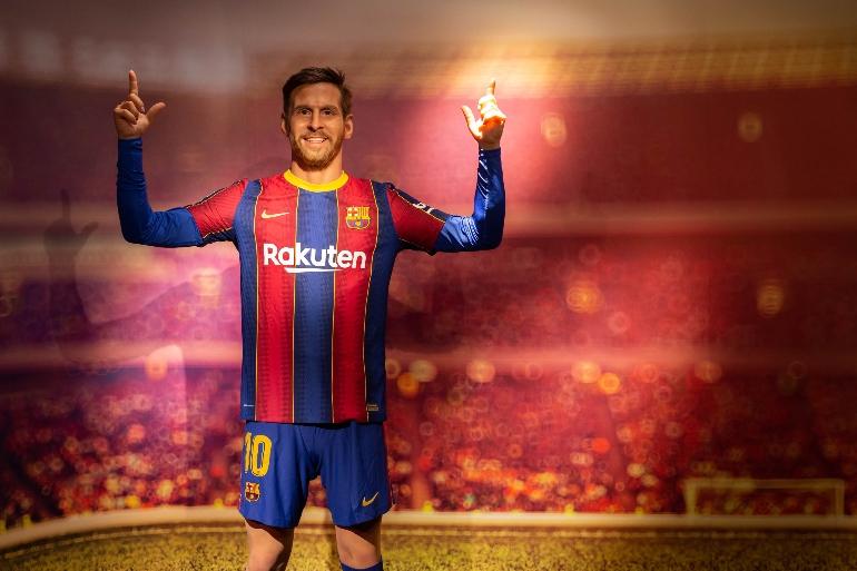 Leo Messi es uno de los protagonistas del nuevo Museo de Cera de Barcelona