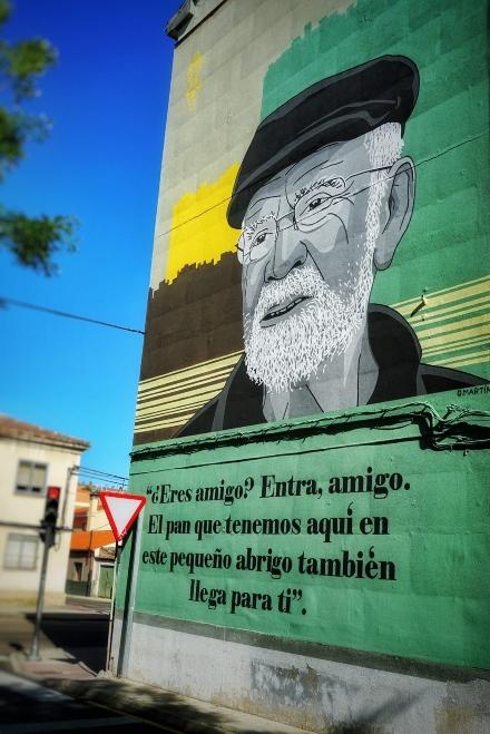 La ruta de los graffitis de Zamora es un itinerario muy desconocido por muchos visitantes