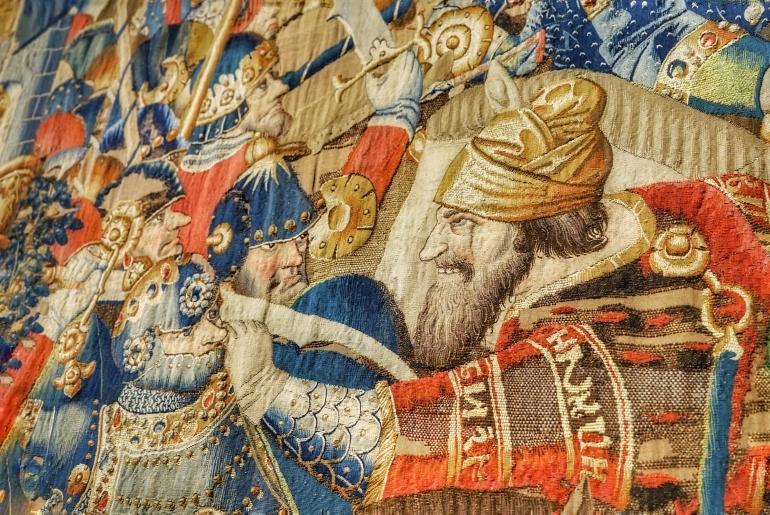 Los tapices del Museo Catedralicio de Zamora son verdaderamente espectaculares