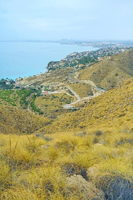 Vistas de la costa de El Campello desde la Torre de Reixes