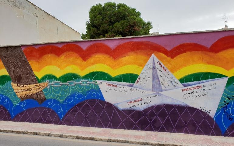 Museo al Aire Libre de El Campello, Maalec, un proyecto creativo y colaborativo que busca embellecer espacios a través del arte urbano
