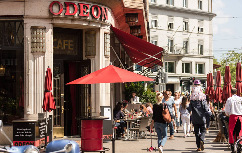 Café Odeon en Zúrich