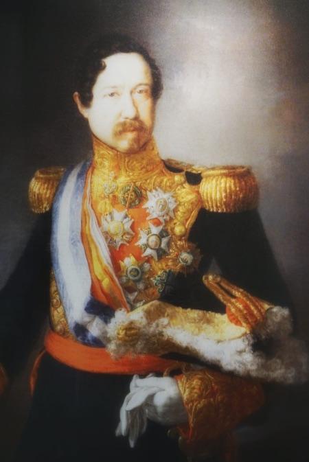 Cuadro de Ramón María Narváez que se encuentra en el Mausoleo