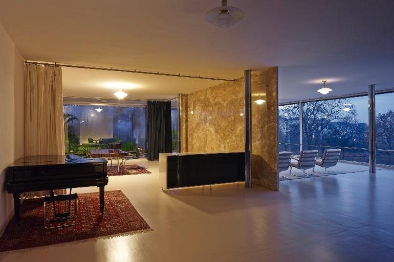 Interior De la Villa Tugendhat