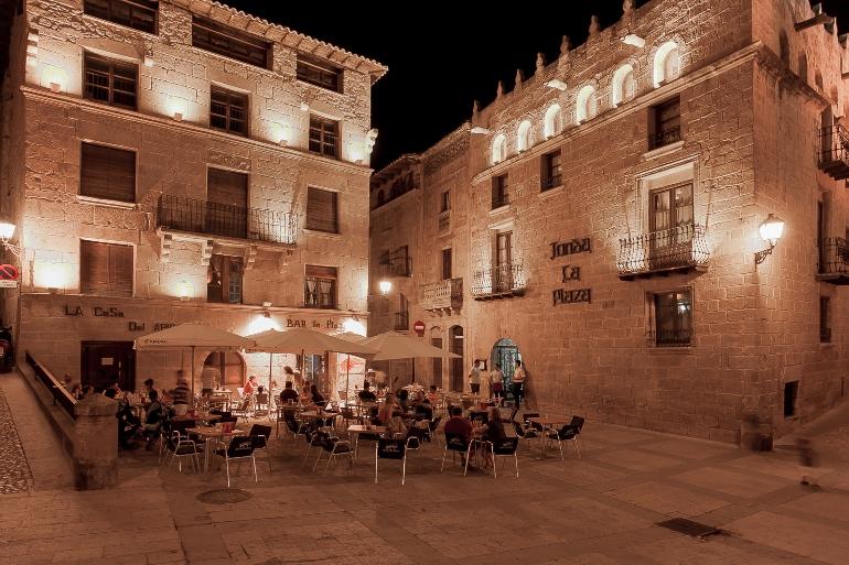 Plaza de España de Valderrobles