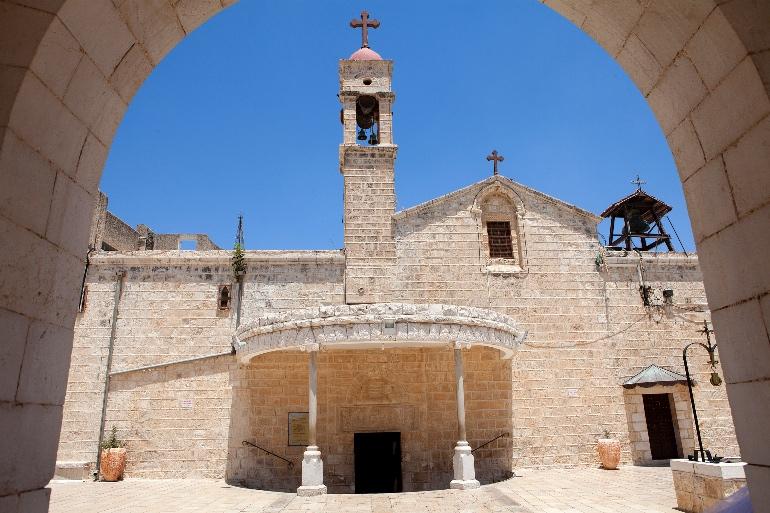 Iglesia de San Gabriel, en Natzaret