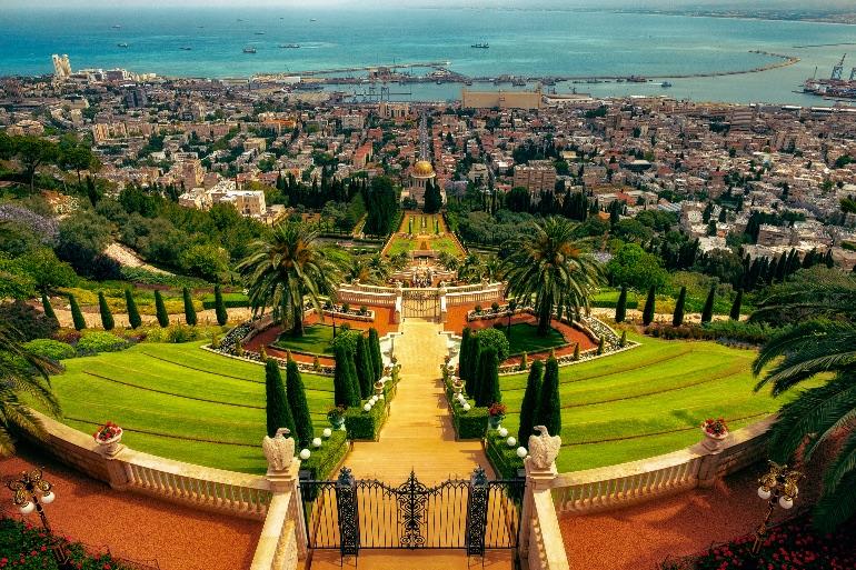 Monte Carmelo, en Israel