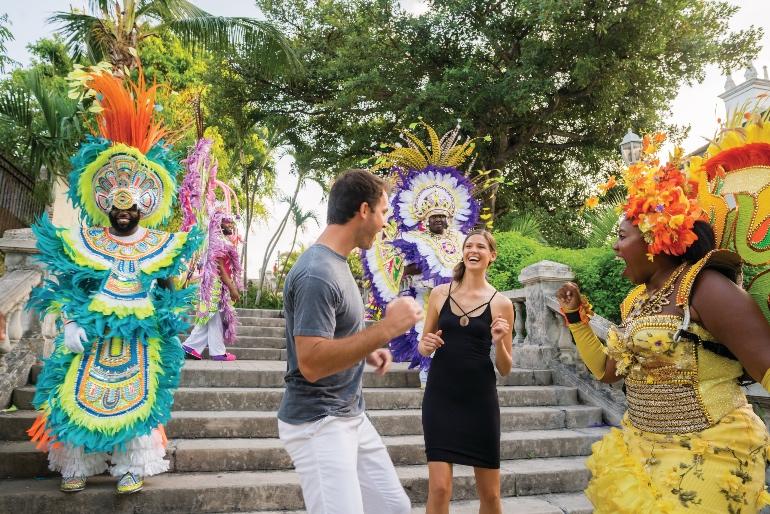 En Las Bahamas la diversión y los bailes están asegurados © Ministerio de Turismo de Las Bahamas