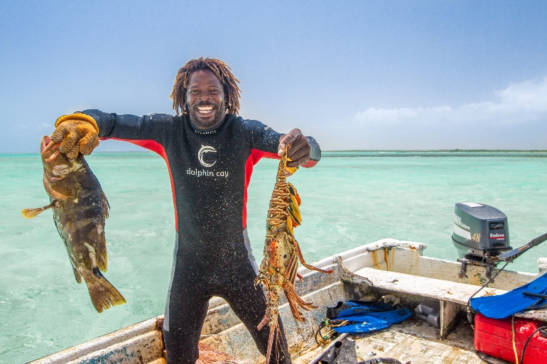 Pescar con un bahameño es toda una experiencia © Ministerio de Turismo de Las Bahamas