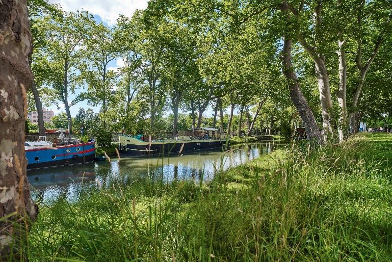 El canal du Midi es un verdadero espectáculo en lo que a paisajes se refiere © Oficina de Turismo de Toulouse