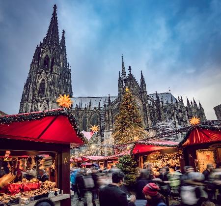 Mercado de Navidad de Colonia © Wojciech Grabowski / GNTB