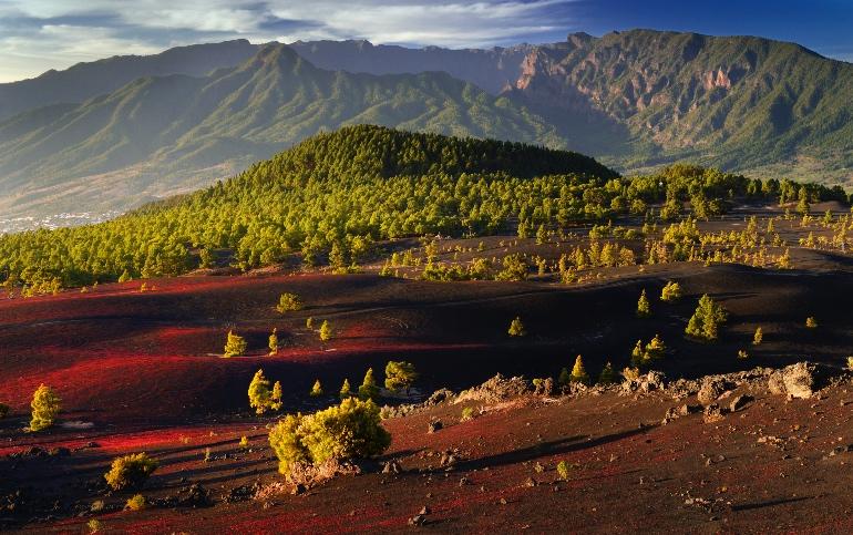 Los Llanos del Jable, en La Palma